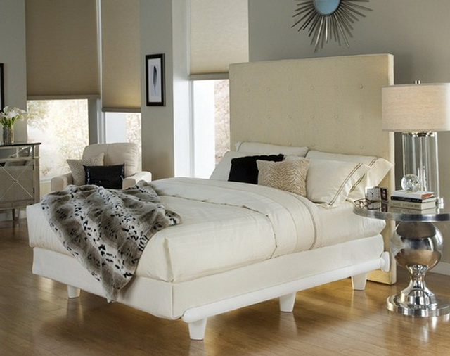 White Twin Bed Frame