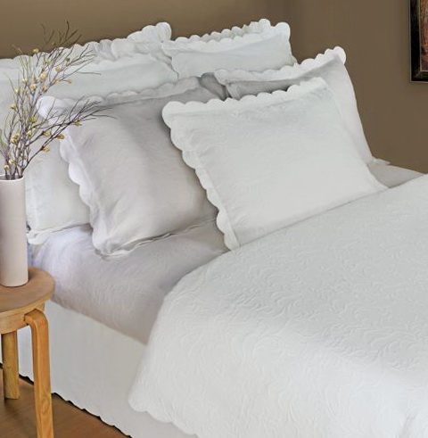 White Twin Bedspread