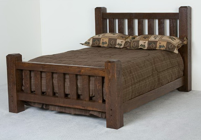 Wood Twin Size Bed Frame