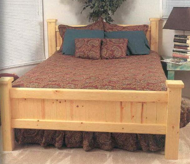 Wooden Bed Frames Plans