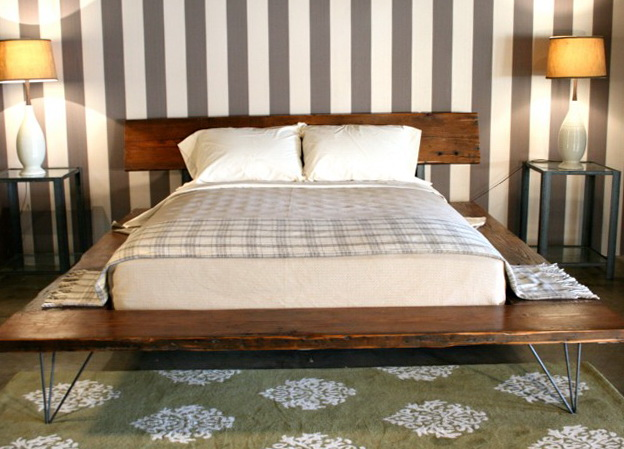 Wooden Platform Bed Frames