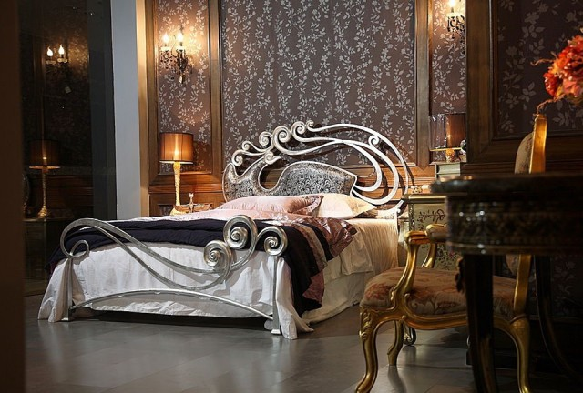 Wrought Iron Bed With Storage