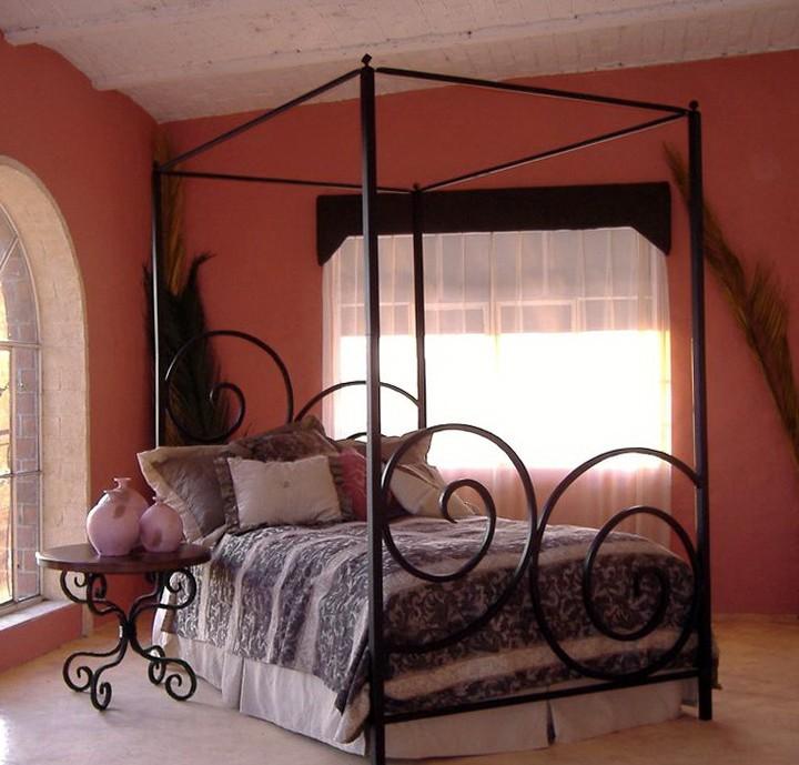 Wrought Iron Bedroom