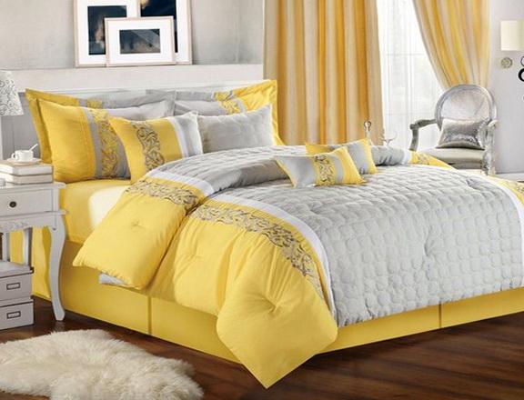 Gray Zig Zag Bedding Beds 40312 Home Design Ideas