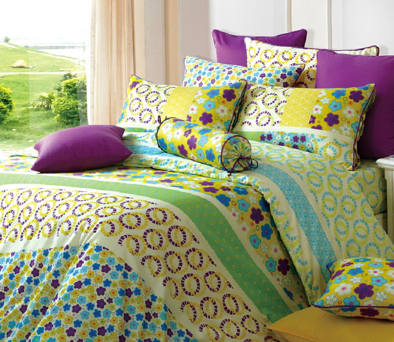 Yellow Bed Comforter Sets