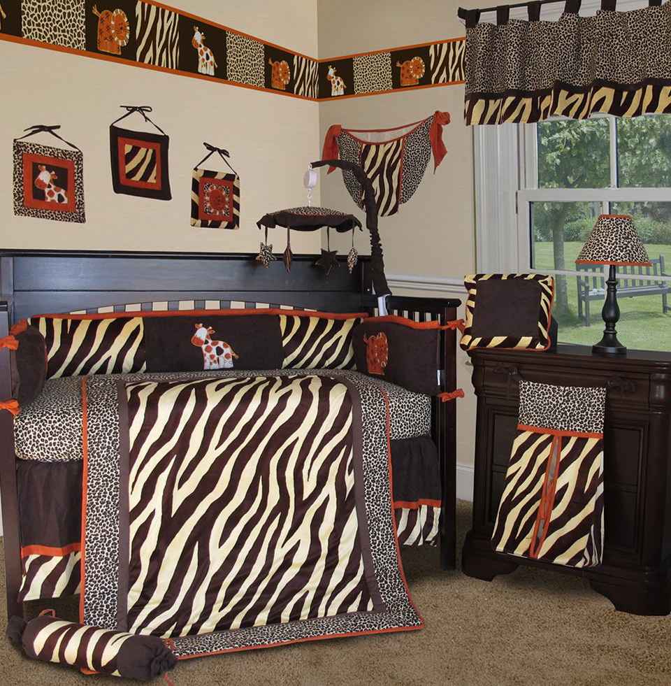 Zebra Print Bedding For Cribs