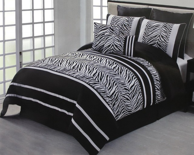 Zebra Print Bedding Twin