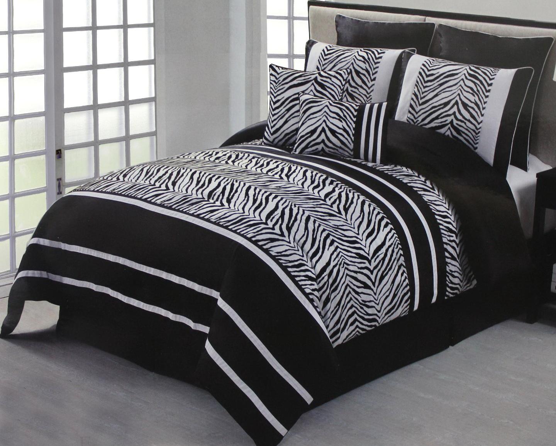 Zebra Print Bedding Twin