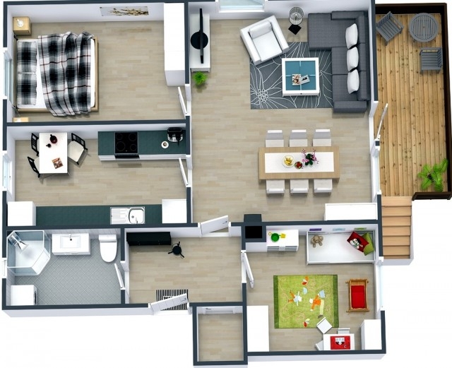 2 Bedroom House Plans In Kenya
