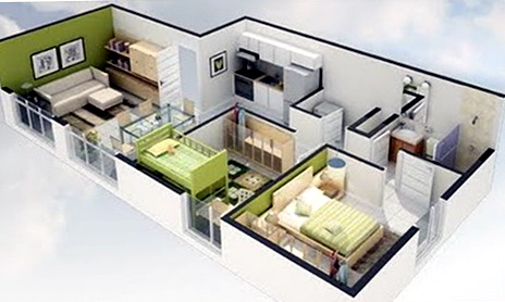2 Bedroom House Plans Under 1000 Sq Ft