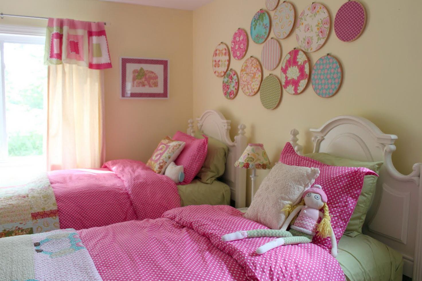 2 Little Girls Bedroom Ideas