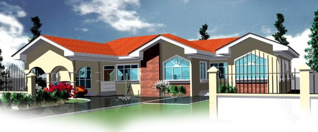 4 Bedroom House Plans In Ghana