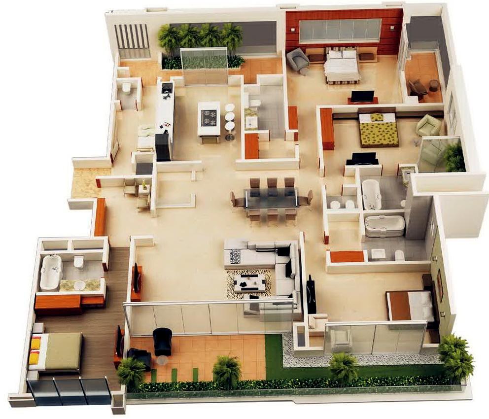 Marvelous 4 Bedroom House Plans Nz