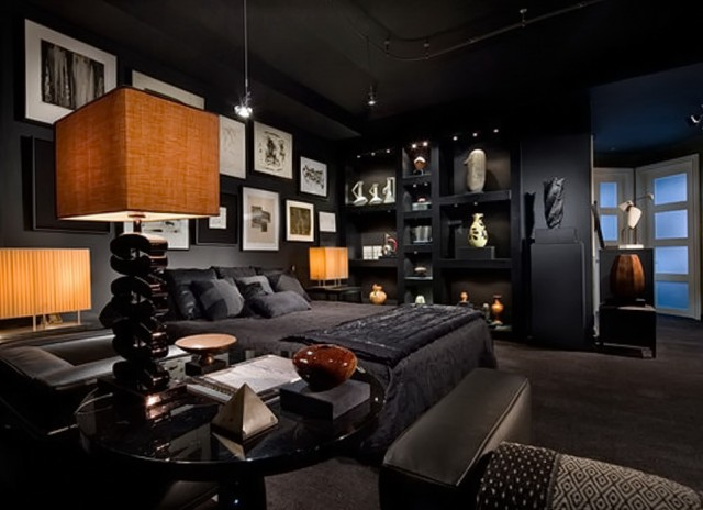 All Black Bedroom Sets