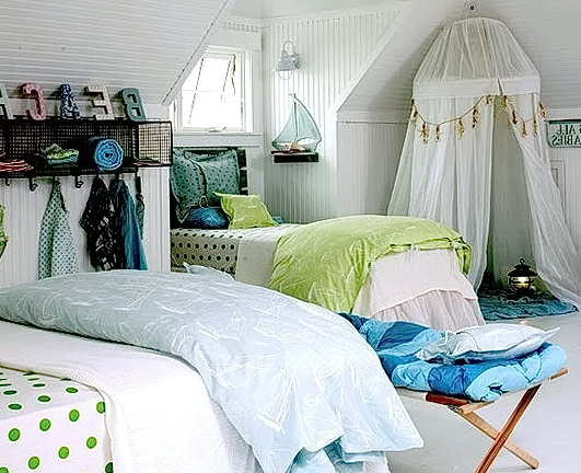 Beach Themed Bedrooms For Girls