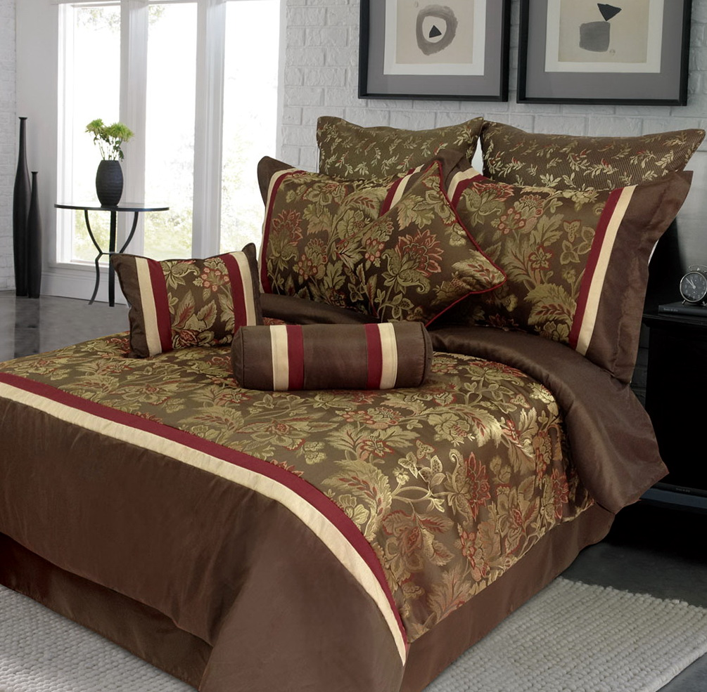 Bedroom Comforter Sets With Matching Curtains