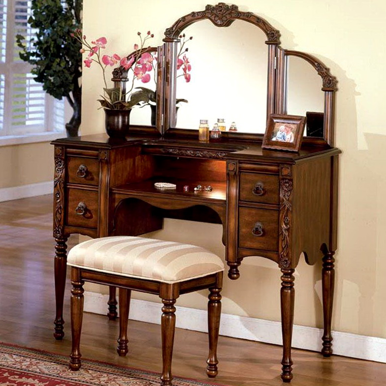 Bedroom Vanity Sets With Drawers