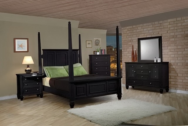 Black Bedroom Sets King