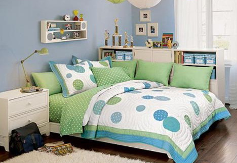 Blue And Green Bedroom Ideas For Girls