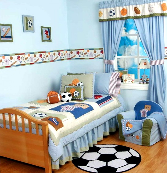 Boys Bedroom Furniture Sports Theme