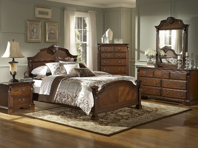 California King Bedroom Furniture Collections