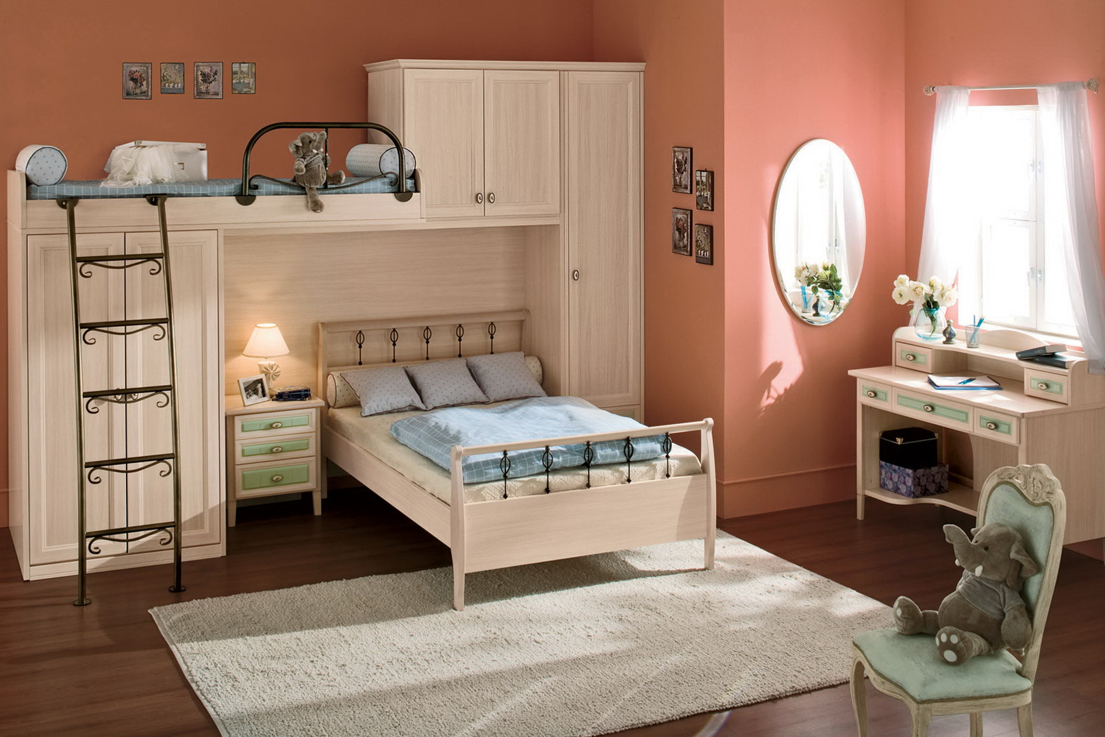 Childrens Bedroom Furniture Bunk Beds