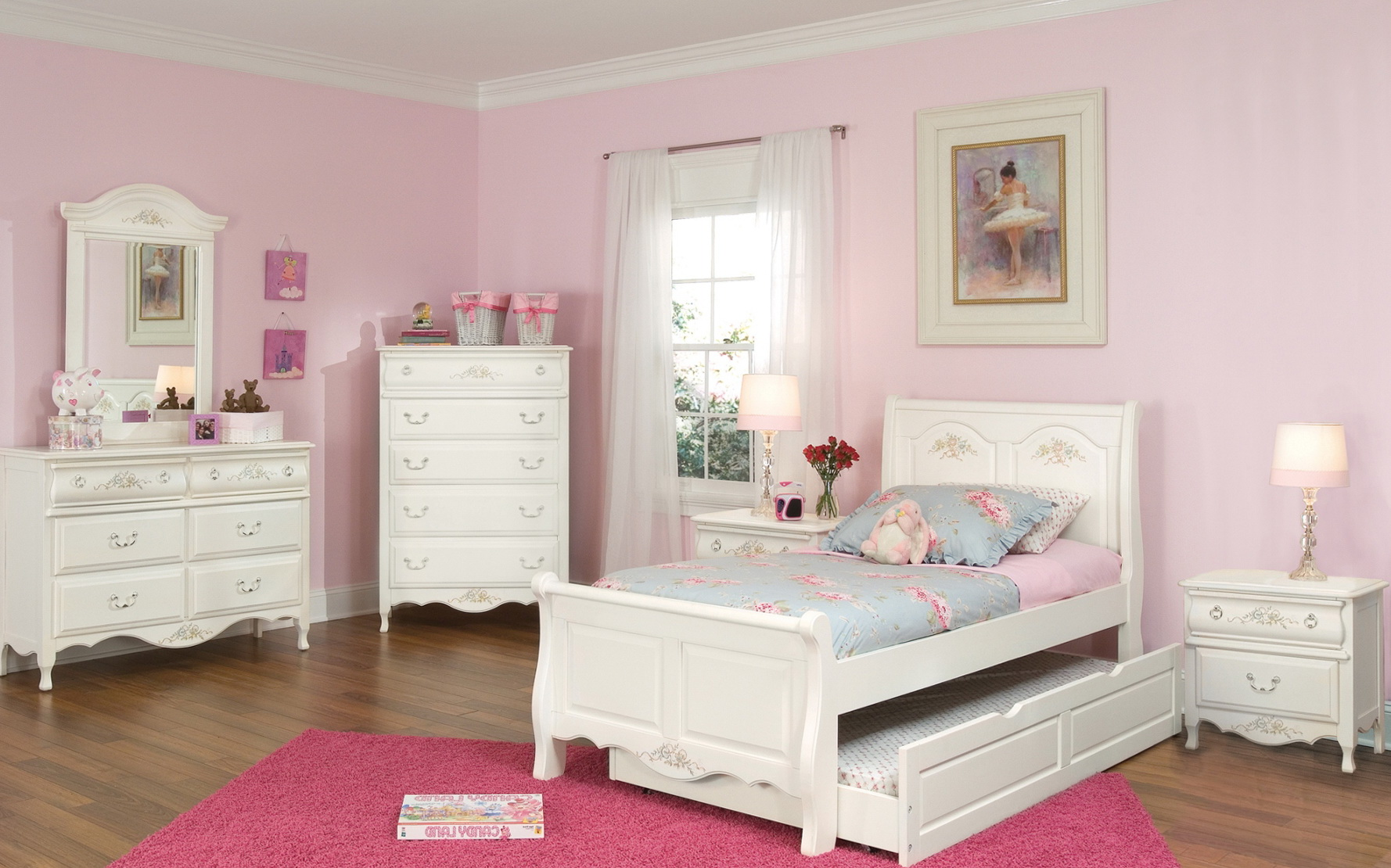 Childrens White Bedroom Furniture Sets