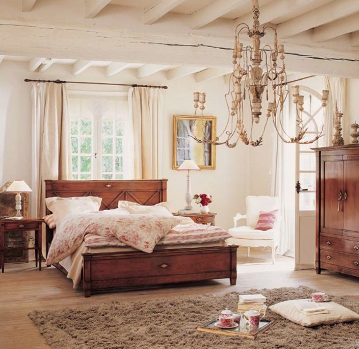 Country Bedroom Ideas Pictures