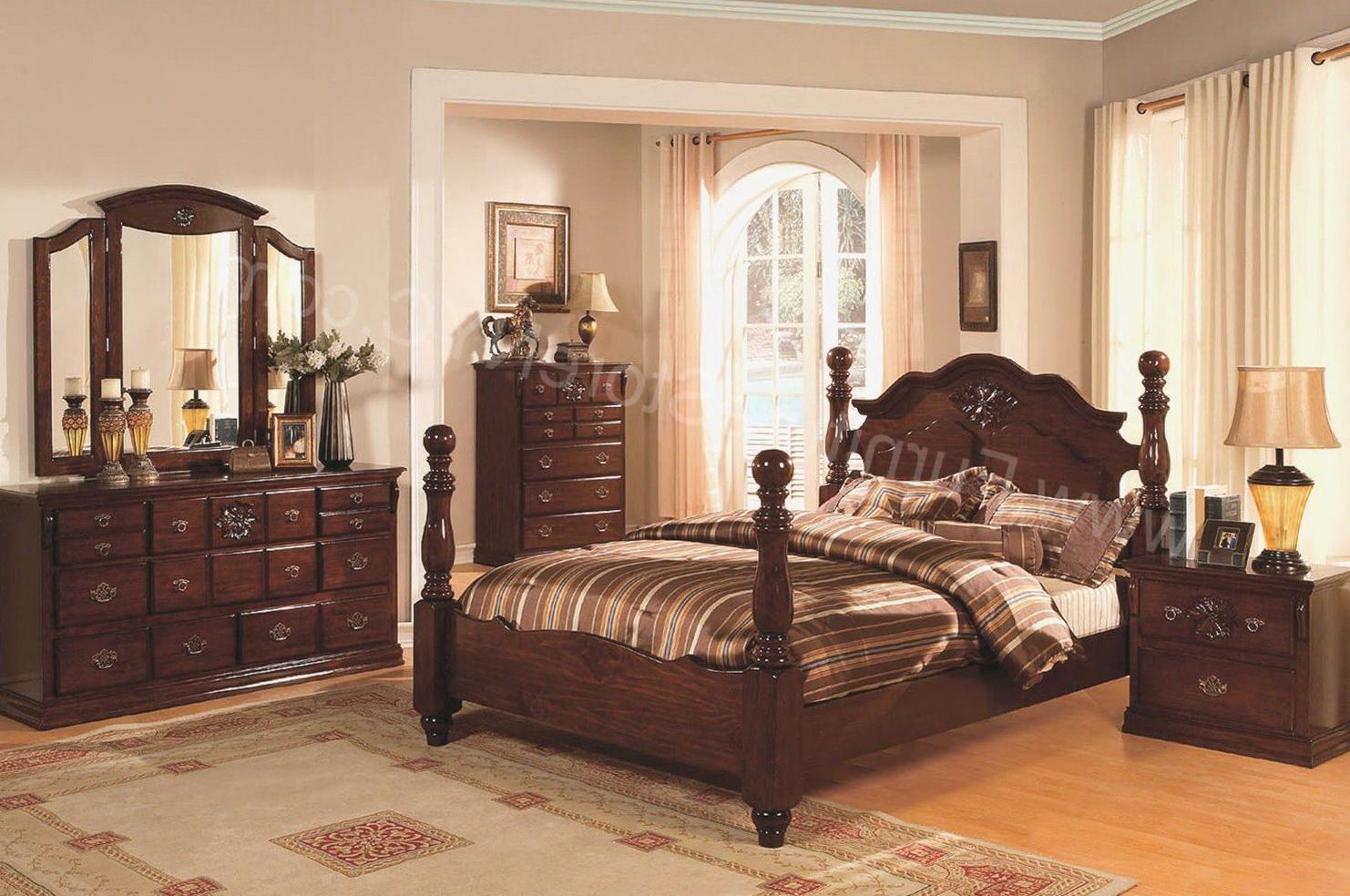 Dark Pine Bedroom Furniture