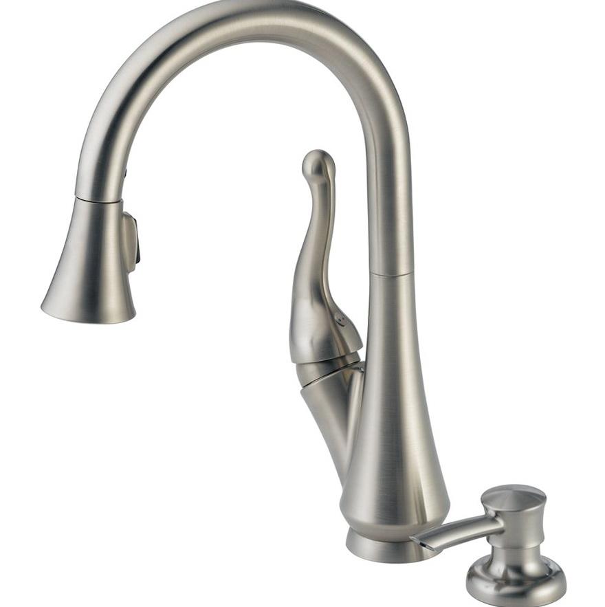 Delta Kitchen Faucets Lowes