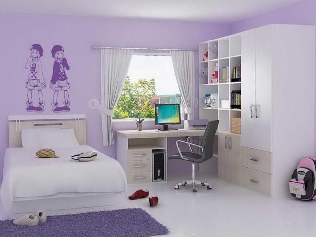 Girl Bedroom Ideas Purple