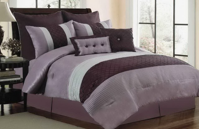Grey Bedroom Ideas With Purple