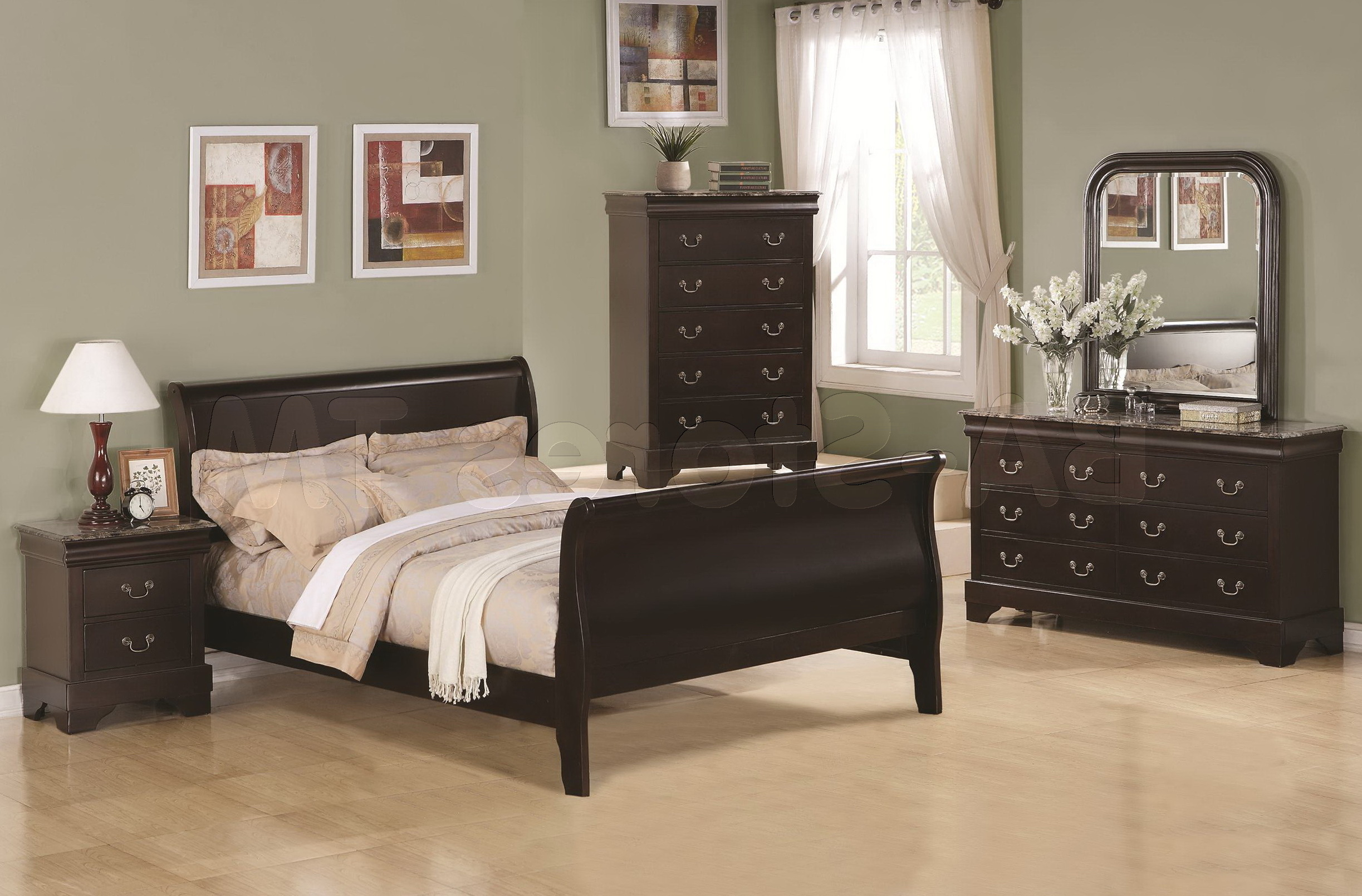 Hayworth Mirrored Bedroom Furniture Collection