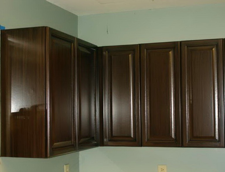 How To Paint Kitchen Cabinets Brown