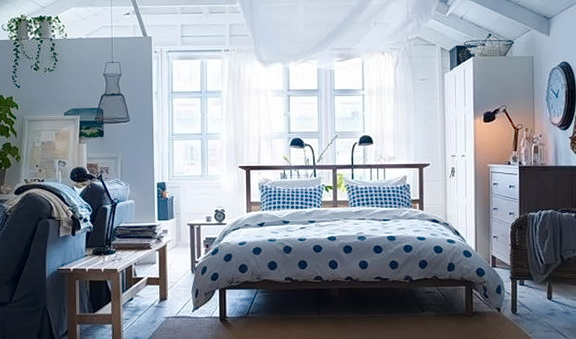 Ikea Bedroom Ideas Blue