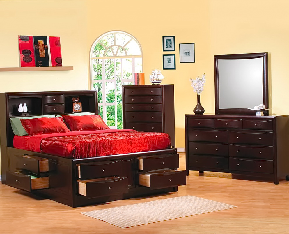 King Bedroom Sets With Storage