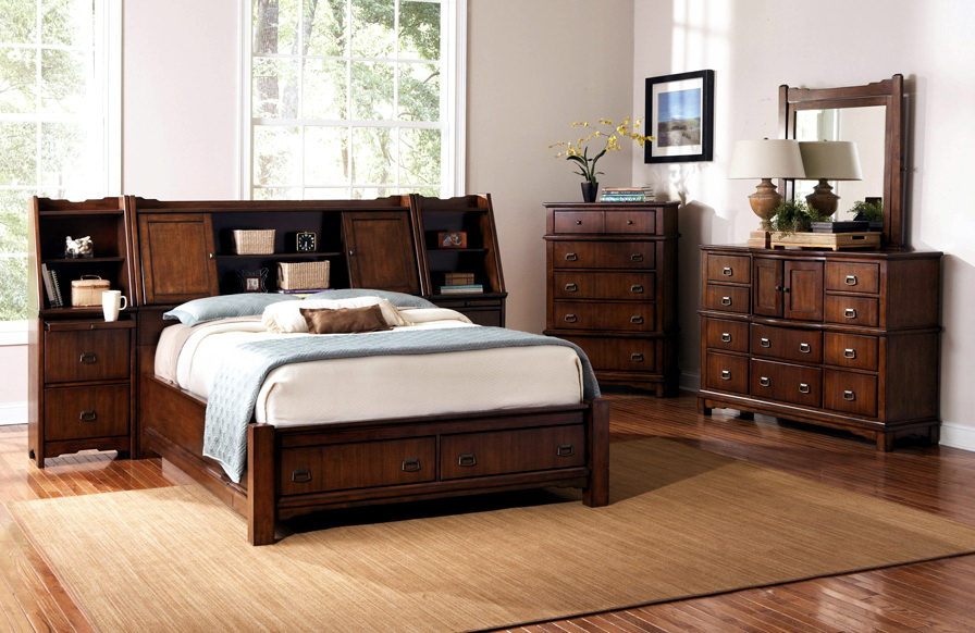 King Size Bedroom Sets With Storage