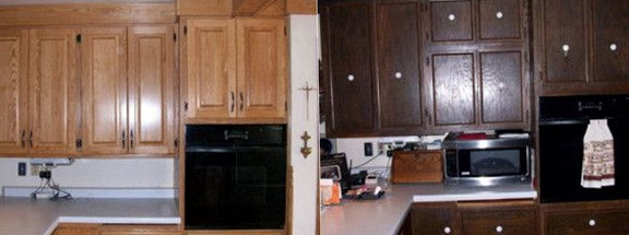 Kitchen Cabinet Refacing Pictures Before After