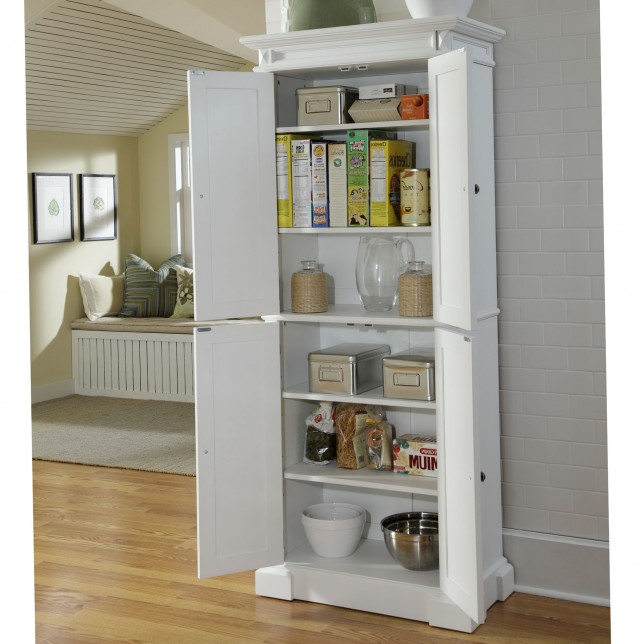 Kitchen Pantry Cabinet White
