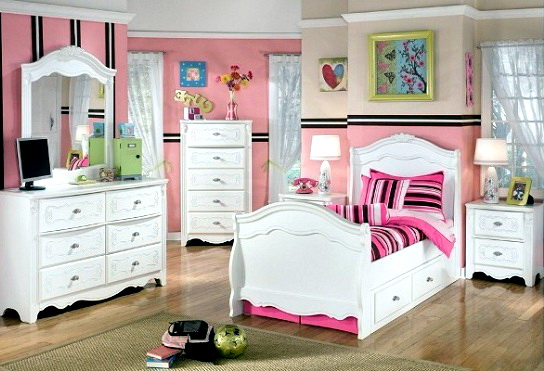 Little Girl Bedroom Furniture