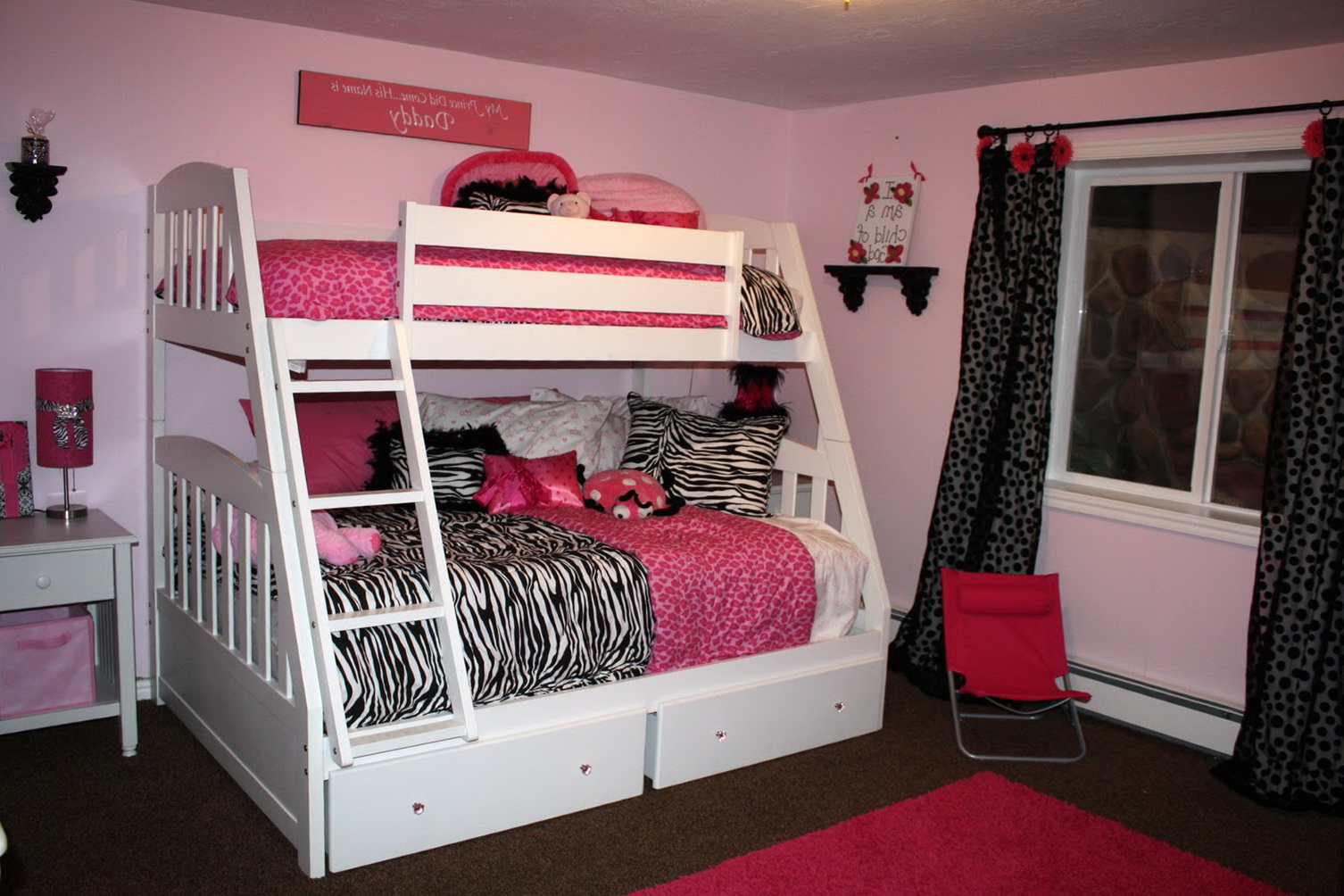 Little Girls Bedroom Ideas With Bunk Beds