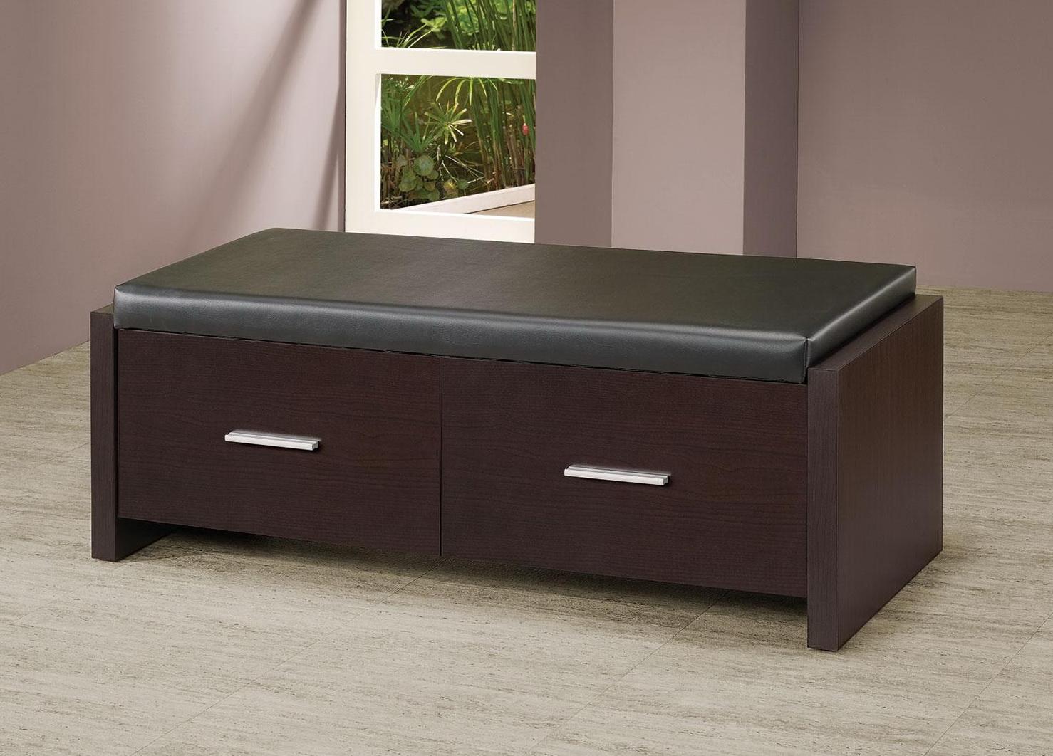 Modern Bedroom Storage Bench