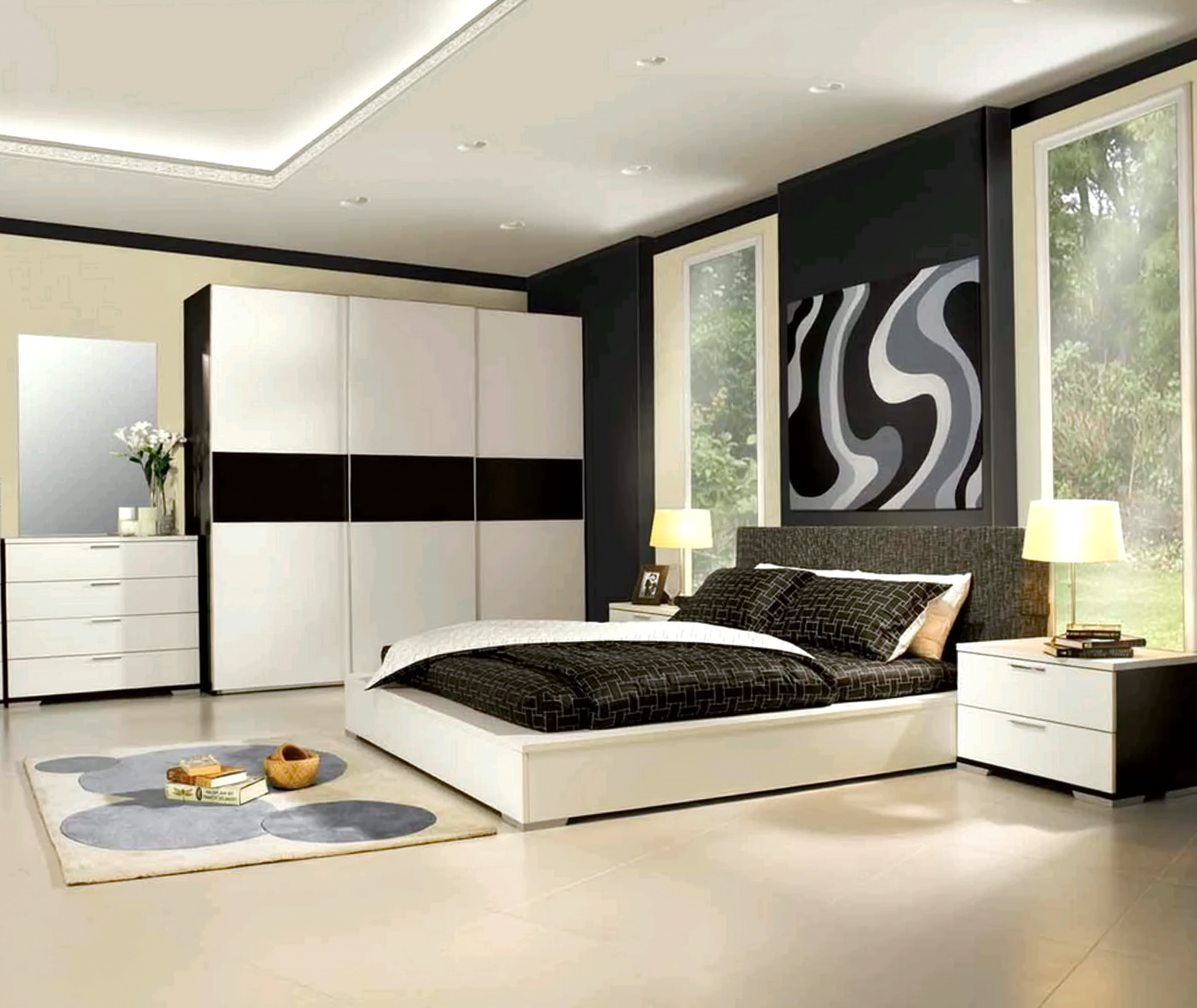 Modern Luxury Bedroom Furniture