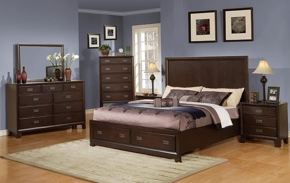 Queen Bedroom Set With Storage Drawers