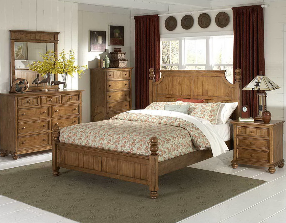 Rustic Pine Bedroom Furniture