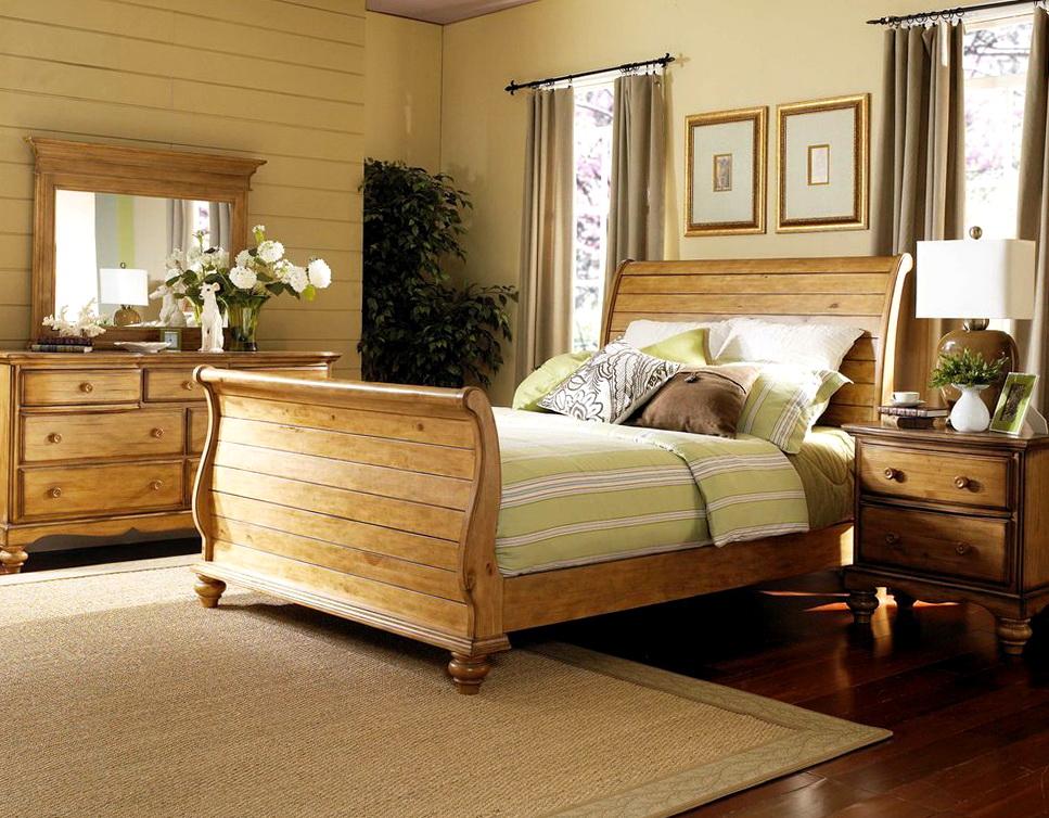 Sleigh Bed Bedroom Sets