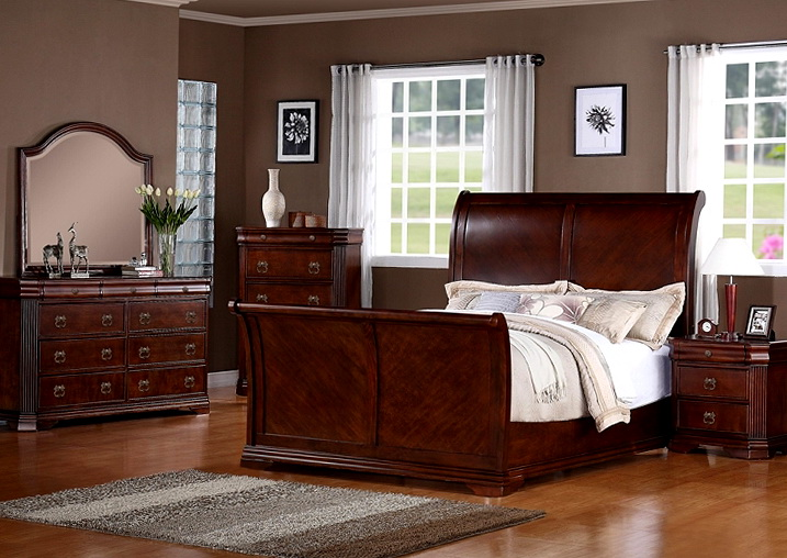Sleigh Bedroom Sets For Sale