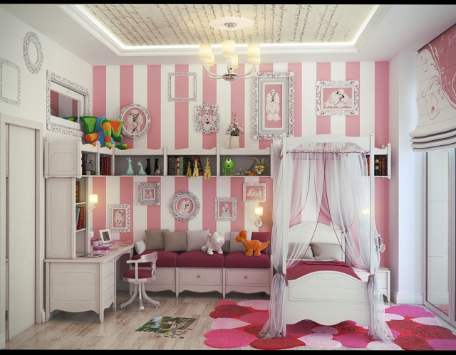 Space Saving Childrens Bedroom Furniture