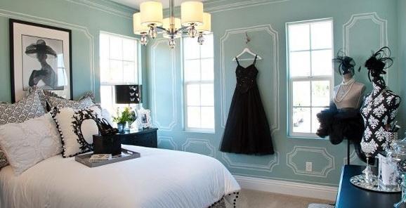 Tiffany Blue Bedroom Design