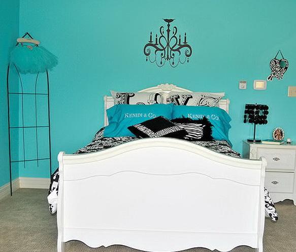 Tiffany Blue Bedroom Paint